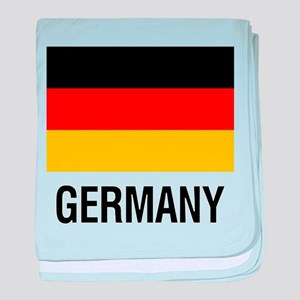 FLAG of GERMANY baby blanket