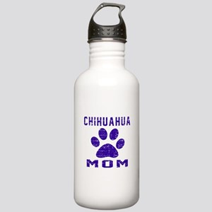 Chihuahua mom designs Stainless Water Bottle 1.0L