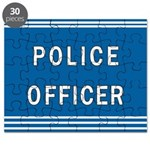 Police Officer Blues Puzzle
