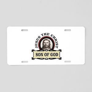nice son of god Aluminum License Plate