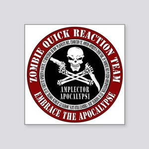 Zombie Quick Reaction Team Sticker