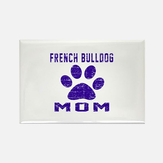 French Bulldog mom designs Rectangle Magnet