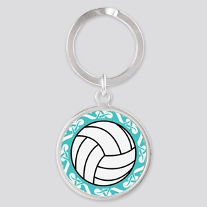 tribal volleyball Keychains