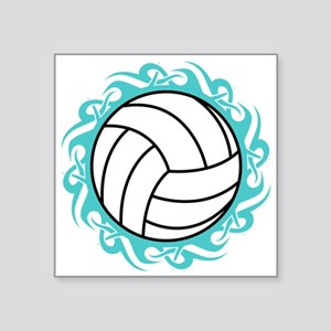 tribal volleyball Sticker
