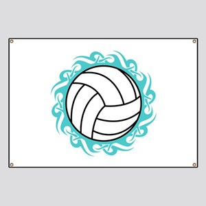 tribal volleyball Banner