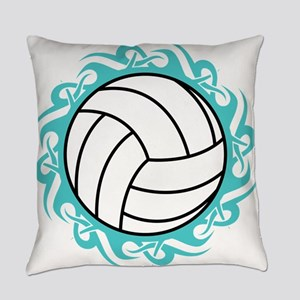 tribal volleyball Everyday Pillow