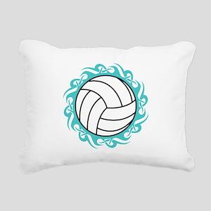 tribal volleyball Rectangular Canvas Pillow