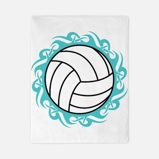 tribal volleyball Twin Duvet