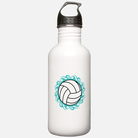 tribal volleyball Water Bottle