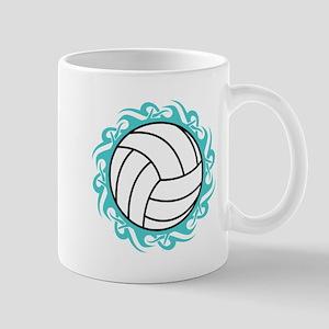 tribal volleyball Mugs