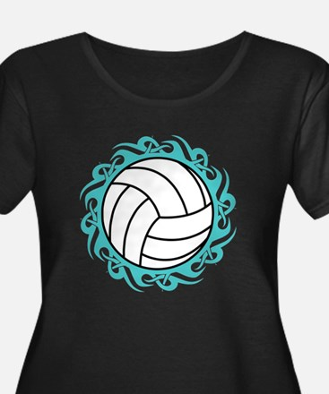 tribal volleyball Plus Size T-Shirt