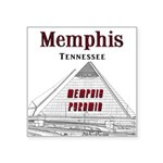 """Memphis Square Sticker 3"""" x 3"""""""