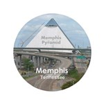 """Memphis 3.5"""" Button (100 pack)"""