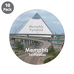 """Memphis 3.5"""" Button (10 pack)"""