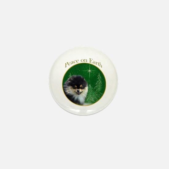 Pomeranian Peace Mini Button