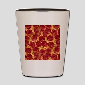 pizzas Shot Glass