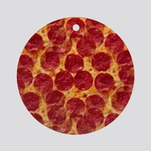 pizzas Round Ornament