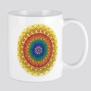 Sunflower Crown Mandala Mugs