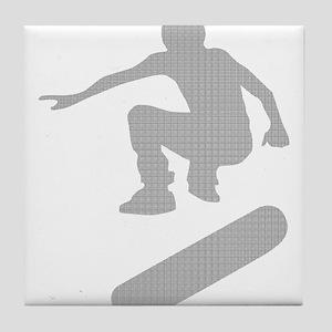 skateboarder chex Tile Coaster