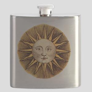 Sun Face Flask