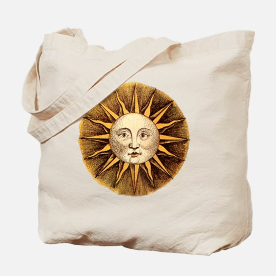 Sun Face Tote Bag