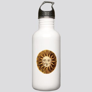 Sun Face Stainless Water Bottle 1.0L