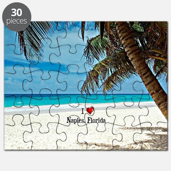 I Love Naples, Florida Puzzle