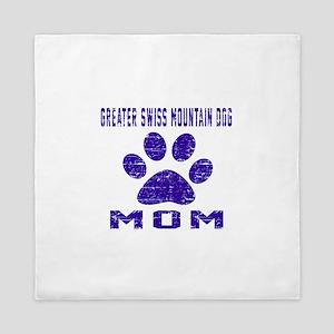 Greater Swiss Mountain Dog mom designs Queen Duvet