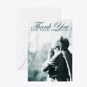 thank you for your sympathy Greeting Cards