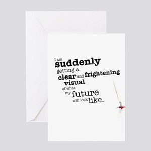 My future will look like Greeting Cards