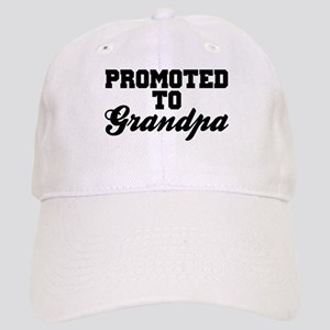 Promoted To Grandpa Cap