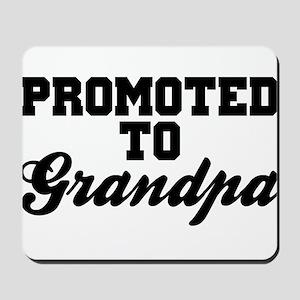 Promoted To Grandpa Mousepad