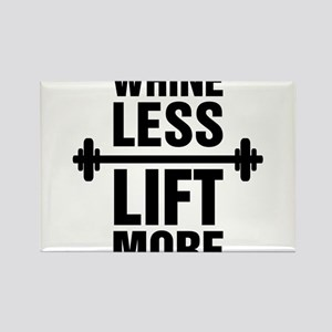 Whine Less Lift More Workout Tank Magnets