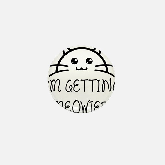 I'm Getting Meowied Mini Button (10 pack)