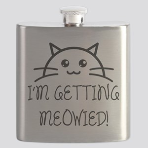 I'm Getting Meowied Flask