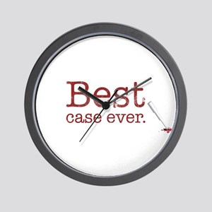 Best Case Ever Wall Clock