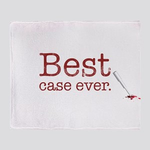 Best Case Ever Throw Blanket