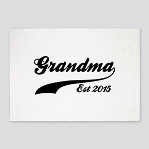 Grandma Est 2015 5'x7'Area Rug