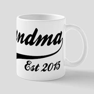 Grandma Est 2015 Mugs