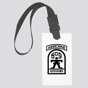 509th Infantry Airborne stencil Large Luggage Tag
