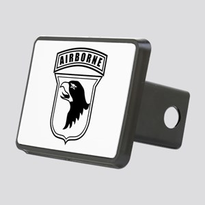 101st Airborne stencil Rectangular Hitch Cover
