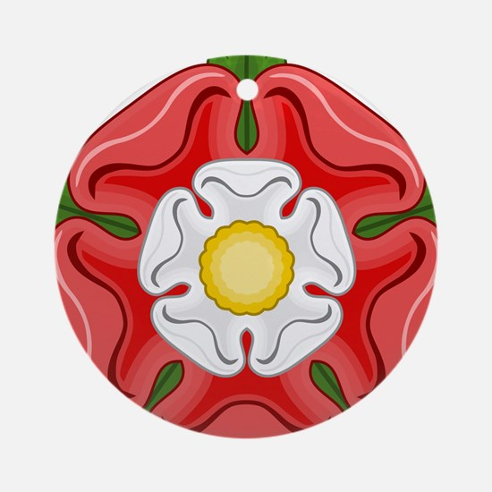 Tudor Rose Round Ornament