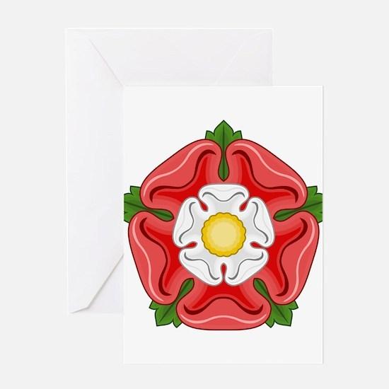 Tudor Rose Greeting Cards