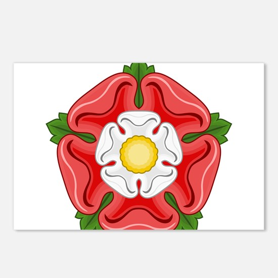 Tudor Rose Postcards (Package of 8)