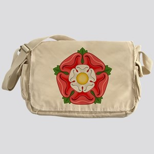 Tudor Rose Messenger Bag