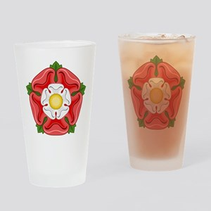 Tudor Rose Drinking Glass