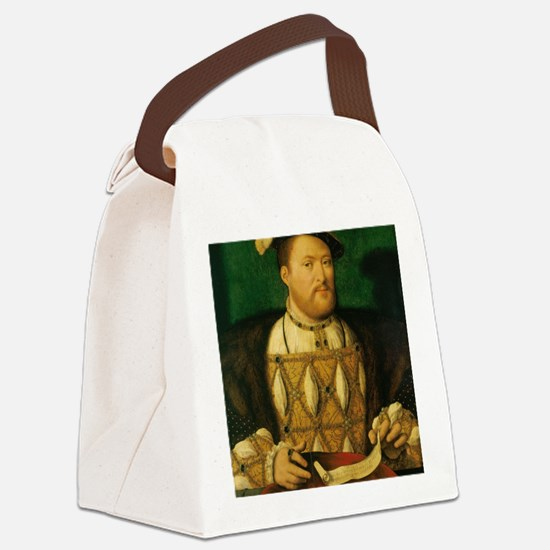 King Henry VIII Canvas Lunch Bag