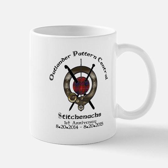 Anniversary Logo Crest Mugs