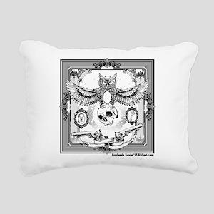 Owl II 2015 series Rectangular Canvas Pillow