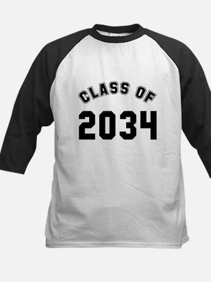 Baby class of 2034 Kids Baseball Jersey